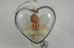 Aniołek w sercu.