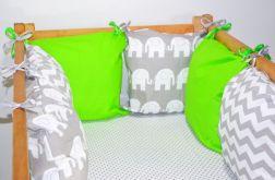 Modułowy ochraniacz do łóżeczka 6 szt N24