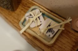 Małe mydełka lawendowe, naturalne dla Twoich gości
