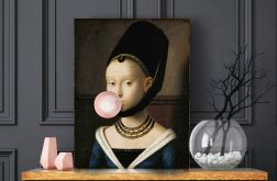 Plakat Dziewczyna z balonem 50x70 cm