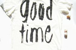 rozmiar L Koszulka z  nadrukiem z napisem
