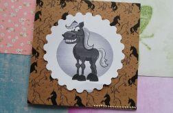 Kartka z koniem