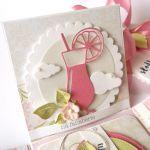 Pudełko na ślub Różowe kwiaty