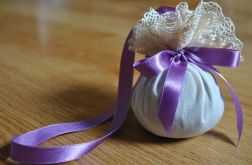 Romantyczna kula lawendowa