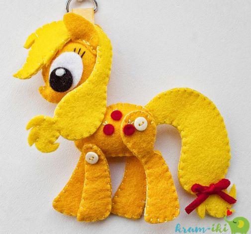 Filcowy breloczek My Little Pony