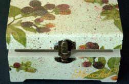 szkatułka z jeżynkami
