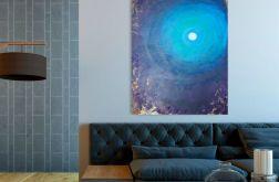 """""""CENTRUM"""" obraz akrylowy na płótnie 100x80cm"""
