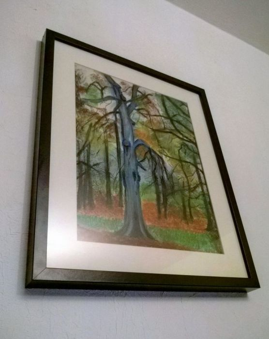 Rysunek pt. Jesień w parku - AgaweART
