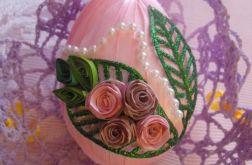 Glamour pisanka różowa
