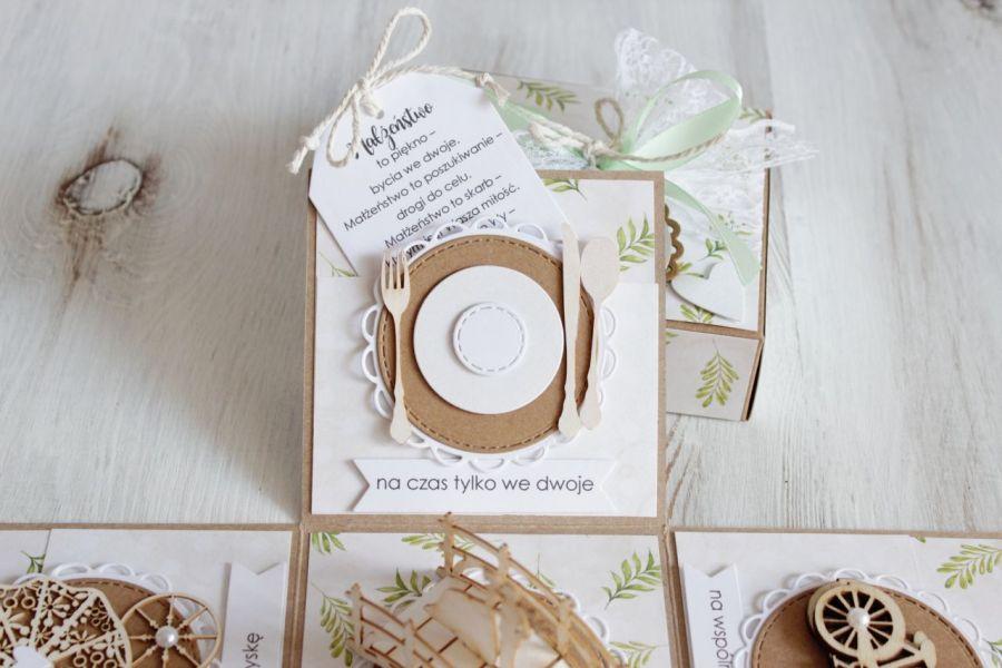 Pudełko - exploding box -ślub 1 -