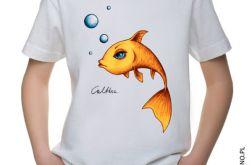 Złota rybka - t-shirt 2-14 lat (kolory)