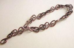 Zakręcona bransoleta