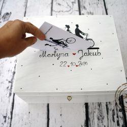 pudełko na karty ślubne.