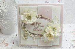 W dniu Ślubu- kartka w pudełku KŚ3