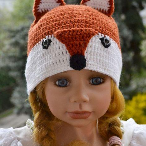 Lisek - wesoła czapeczka