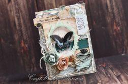 Moc życzeń - herbatka z motylem