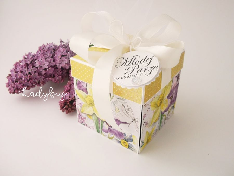 Pudełko na ślub Majowy bez