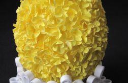 Jajo wielkanocne żółte