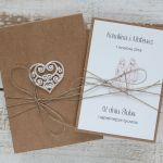 Oryginalna kartka ślubna i pudełko 12a - oryginalna kartka ślubna