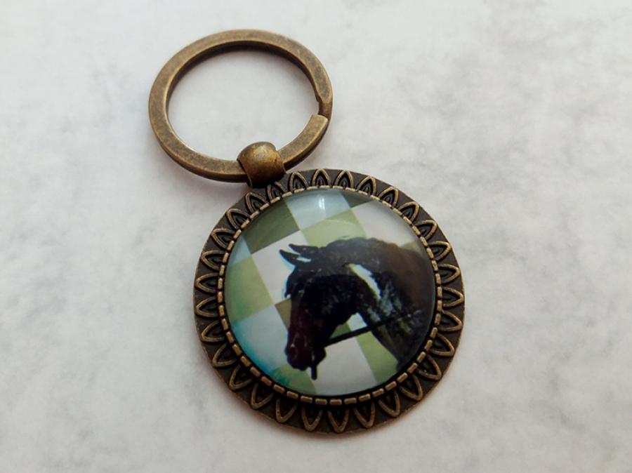 Brelok do kluczy z koniem - Fabricate