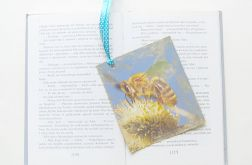 Eko zakładka do książki z pszczółka nr 4
