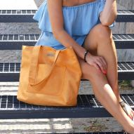 Duża torba Mili Chic orange
