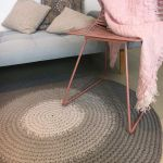 Dywan okrągły sznurek 120 cm Tricolori 2
