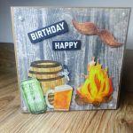 Kartka okolicznościowa #3 piwo piwosz ognisko ogień  - 3