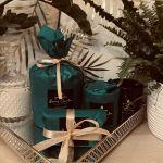 Jaśminowy Ogród - świeca sojowa 700 ml - eleganckie opakowanie