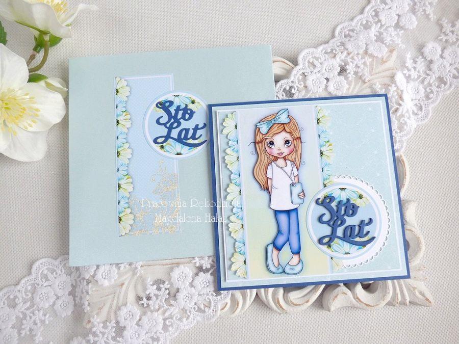 Kartka urodzinowa dla dziewczynki 46