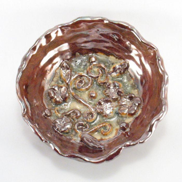 Miska ceramiczna lustrowa - dekoracja ceramiczna