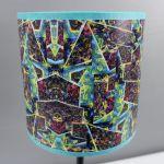 Lampa nocna sEN kOSIARZA 8 S - Wysokość abażuru - 15 cm