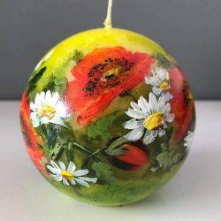 Świeca w kształcie kuli-maki