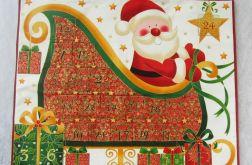 Kalendarz adwentowy Mikołaj NA ZAMÓWIENIE