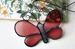 Zakładka do książki duży motyl fiolet