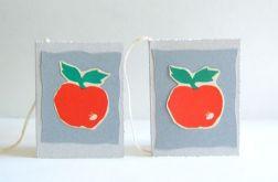 Jabłuszka - bileciki do prezentów