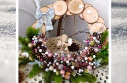 Wieniec świąteczny Anioł wz2 prezent upominek