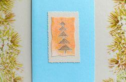 Kartka  świąteczna minimalizm 32