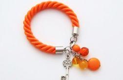 Key To Heart  pomarańczowa