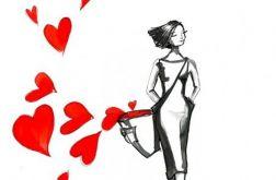 """""""Niesie mnie miłość"""" akwarela"""