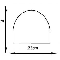 Czapka Unisex Szara geometryczna