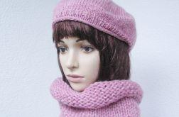 beret i ciepły otulacz - klasyczna elegancja