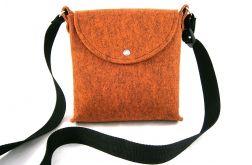 Trip orange-melange bag