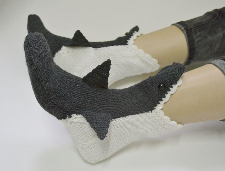 Rekiny skarpetki -zjem Twoje stopy grafit ;)