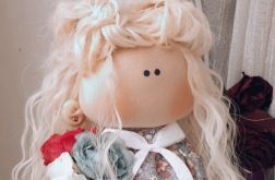 Lalka Oliwia ręcznie robiona