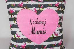 Kochanej Mamie ~ ozdobna poduszka z haftem