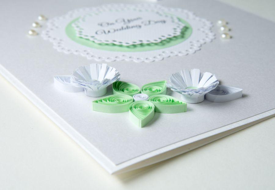 Wyjątkowa Kartka ślubna Quilling Paper Paradise