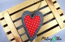 Serce ~ dekoracyjna zawieszka ~ kropy