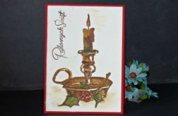 157. LAMPION świąteczny