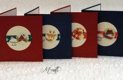 Wesołych Świąt...Komplet 4 kartek
